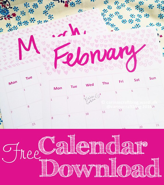 2016 Calendar Download