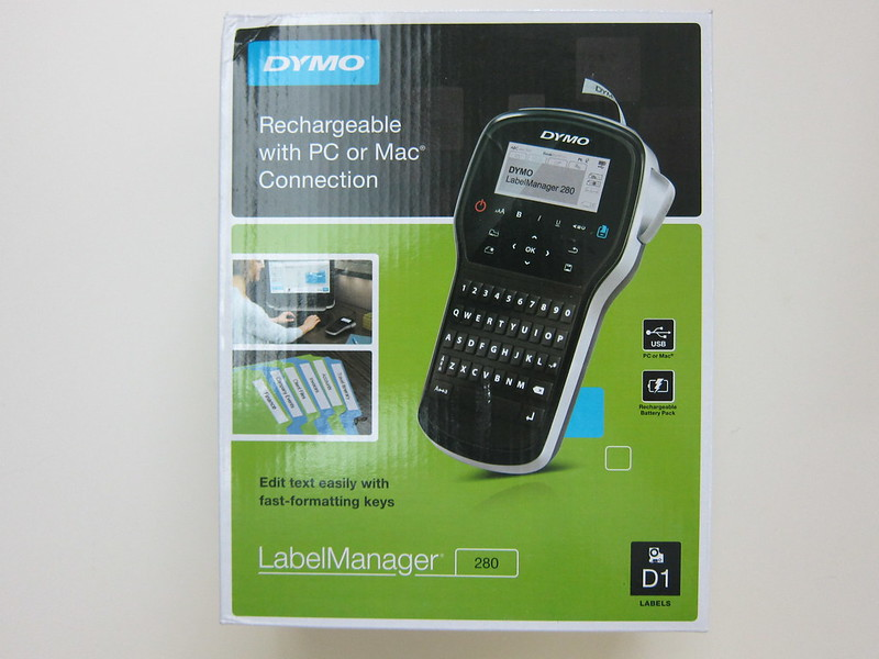 DYMO LabelManager 280 - Box Front