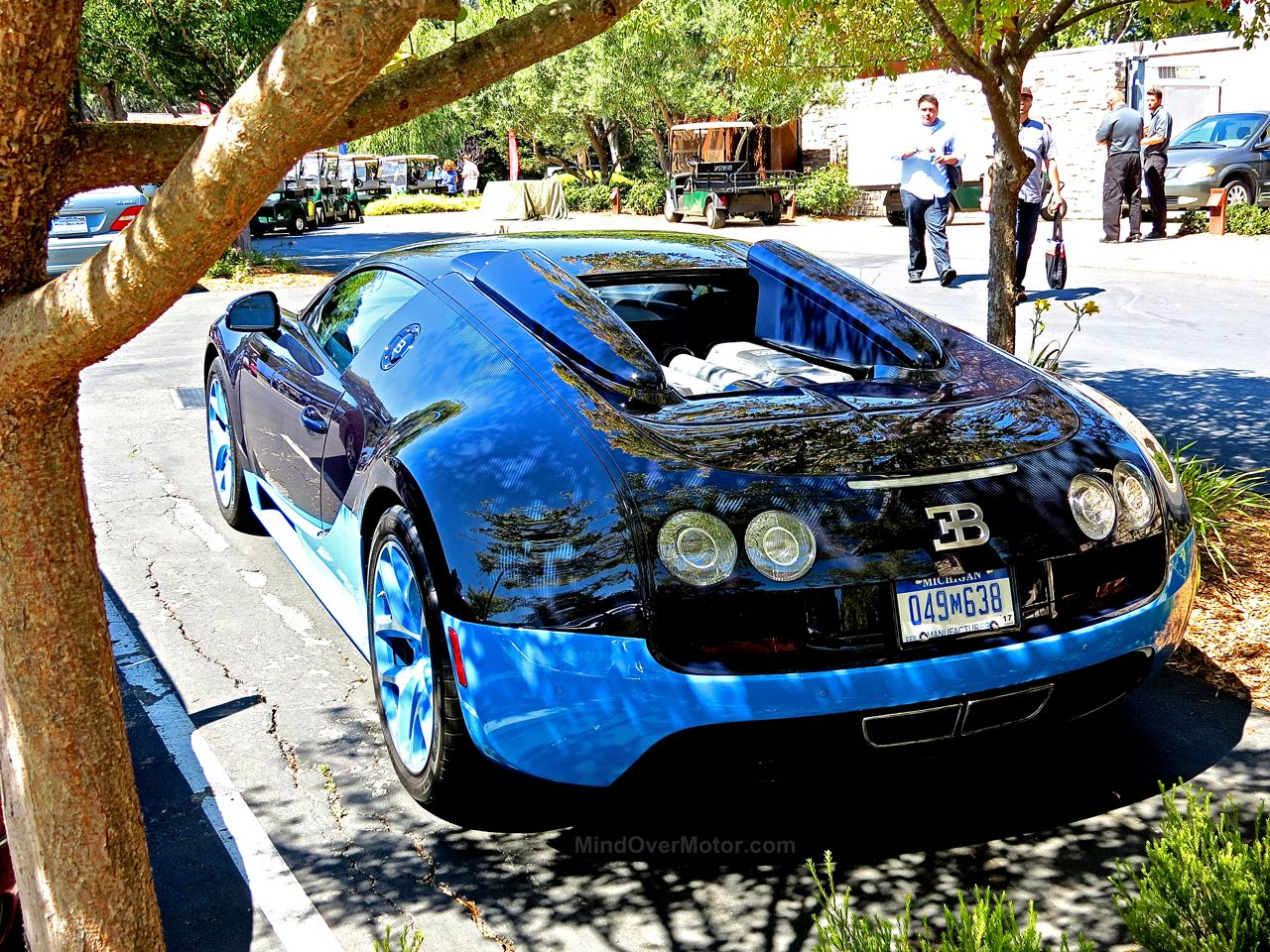 Bugatti Veyron Grand Sport Vitesse Blue Carbon 5