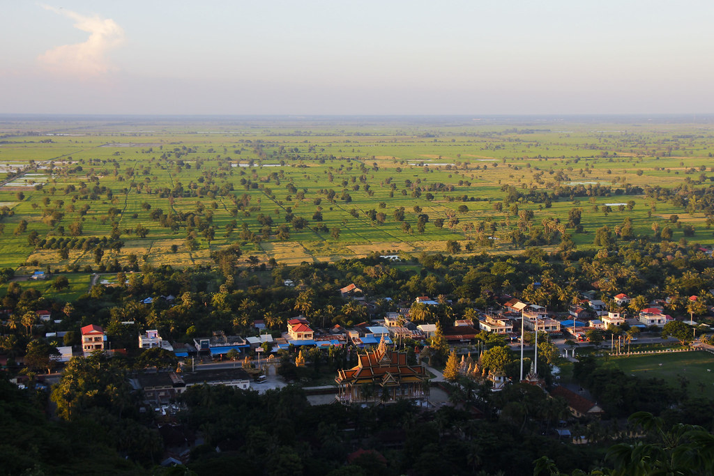 Battambang i Cambodja
