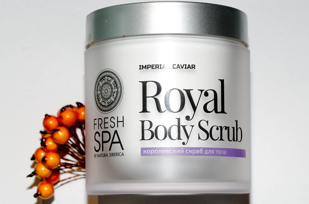 fresh spa natura siberica royal body scrub отзыв