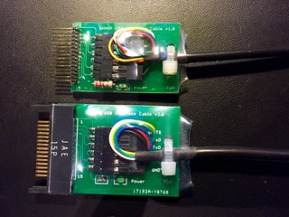 SHARP PC-E500(S) USB Adapterplatine v2.0