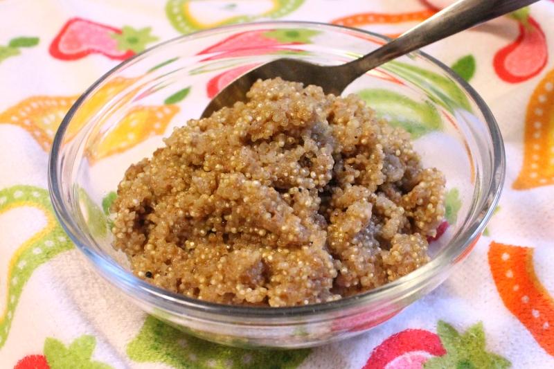 Cinnamon Quinoa Pudding