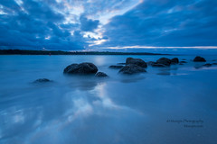muzzpix-nz posted a photo:Facebook    | 500px  | WebsiteSo the glorious sunset was a total fizzer ... to bad. Howabout a bit of blue and a hint of colour instead . Funny how a bunch of rocks can imitate different things when portrayed differently ...