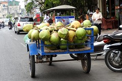 Street View On Cyclo Ride Phnom Penh