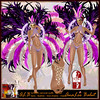 ALB SAMBA carnival outfit - mesh & flexis - MONTH FREE by AnaLee Balut