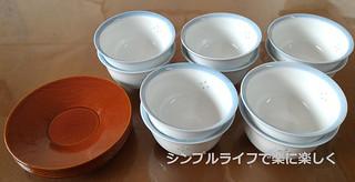 フリーカップ検討、来客用湯呑みと茶托