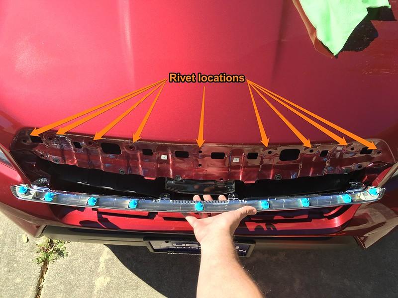 14-'18) - How-to: Plasti Dip the front chrome | Subaru
