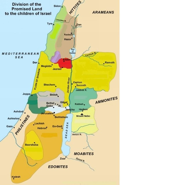 Find the 12 Tribes of Israel Quiz - By nspyred  Tribes Of Israel Map on
