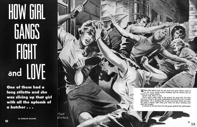 1957 ... cat fight!