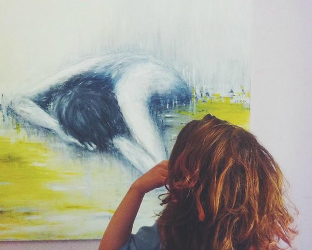 Mum's painting