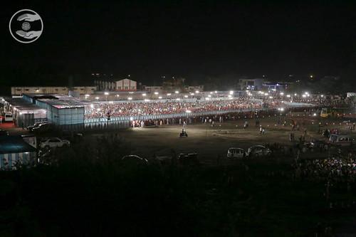 Long views of Satsang venue