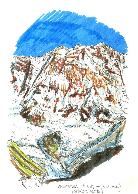 Annapurna (8.091 m.s.n.m.)