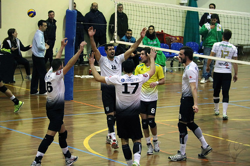 Voleibol: Vitória SC 3-0 Atlântico da Madalena