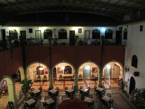 Merida: notre hôtel colonial by night