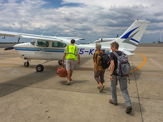 Einstieg in die  Cessna 210 Windhoek