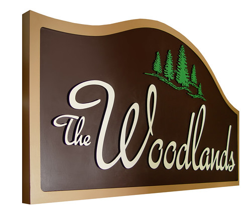 Woodlands Custom Wood Subdivision Signs