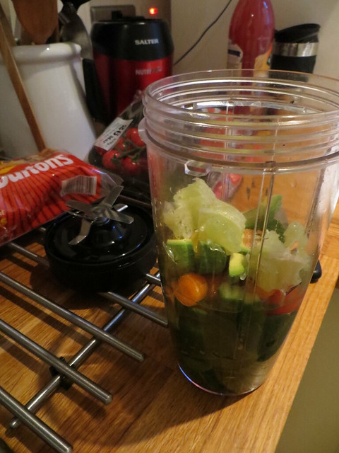 Cleanse Day 3 - Savoury Smoothie