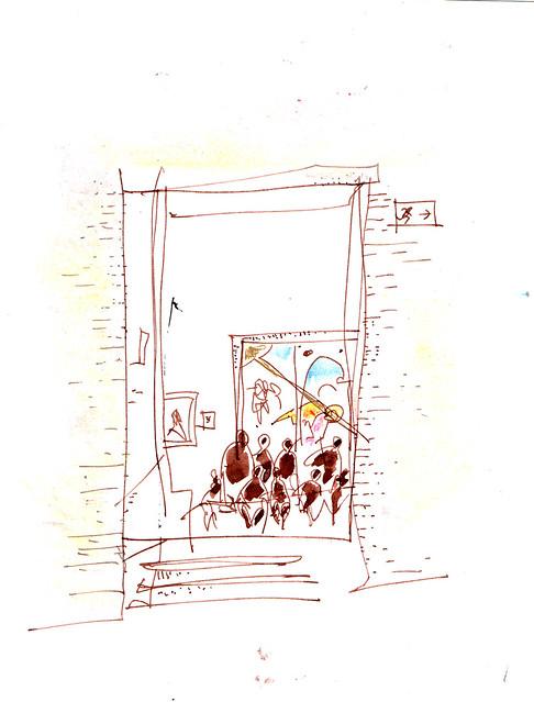 anunciando la Anunciación, el Prado, Madrid