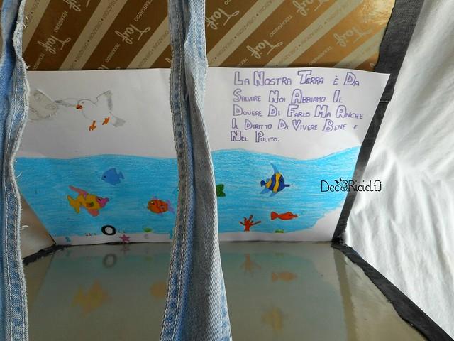cartella porta-disegni cartone e jeans 3