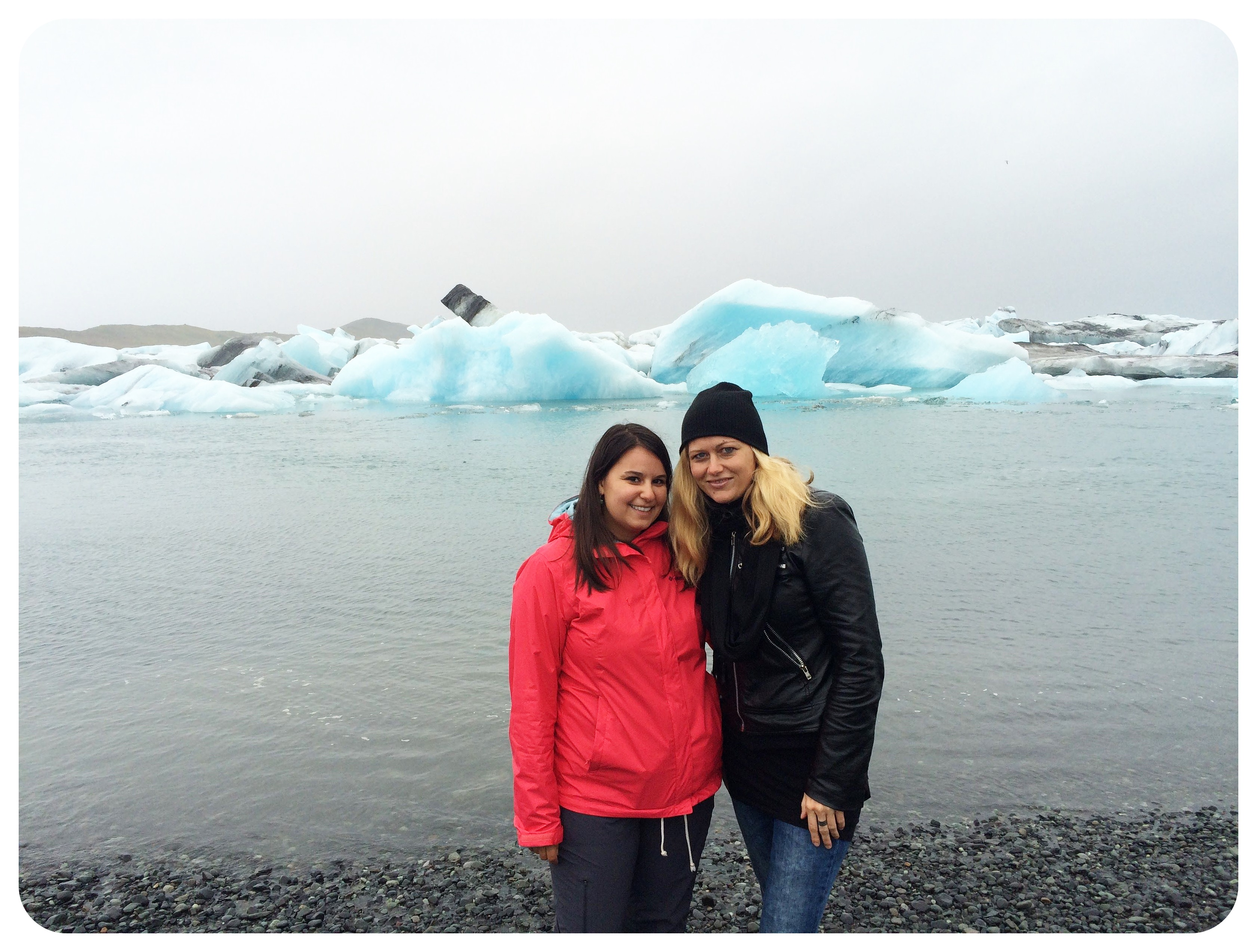rease and dani glacier lagoon ice iceland