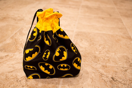 Batman project bag for Pi(e) Swap