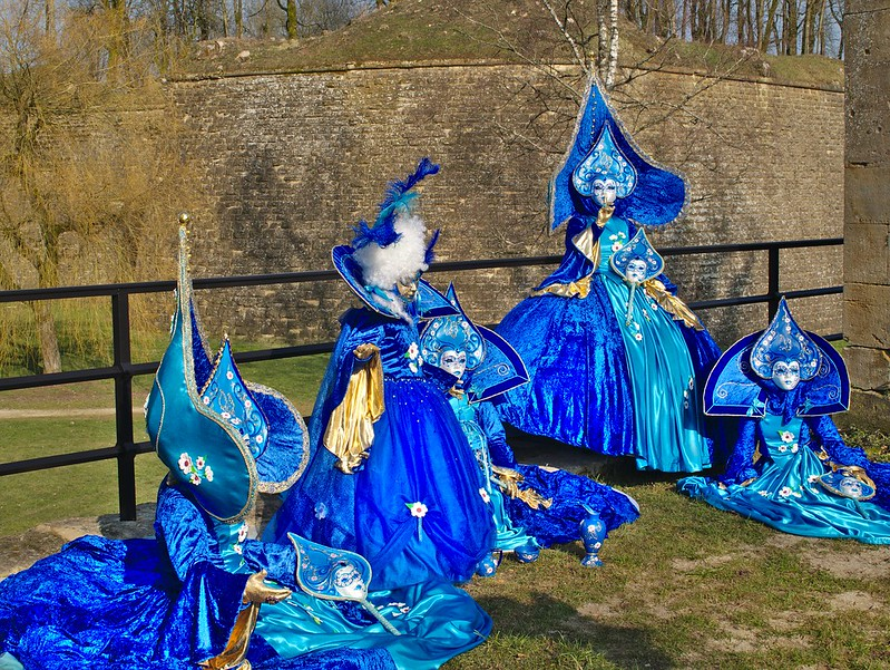 Carnaval vénitien Longwy : quelques tofs + ajouts 25746980185_ee38b08b95_c