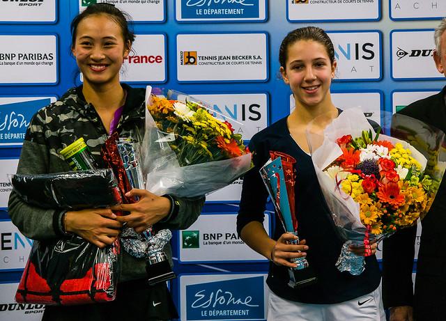 Qinwen Zheng and Diane Parry