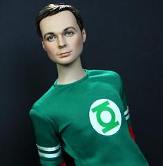 Jim Parsons as Sheldon Cooper Tonner Repaint