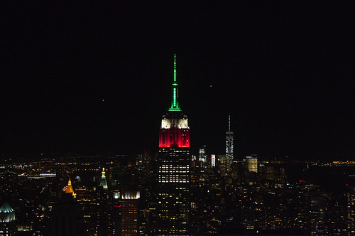 View from Top of the Rock at Night