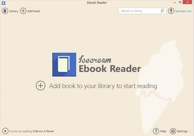 icecream_ebook_reader