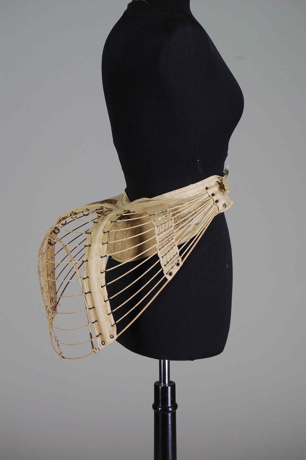 1878. American. Linen, metal. metmuseum