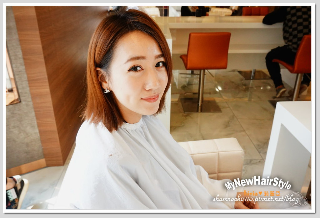 HappyHairTon短髮+墨綠色染髮 - 07