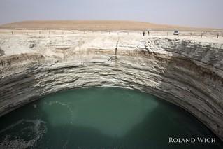 Karakum Desert - Sink Hole