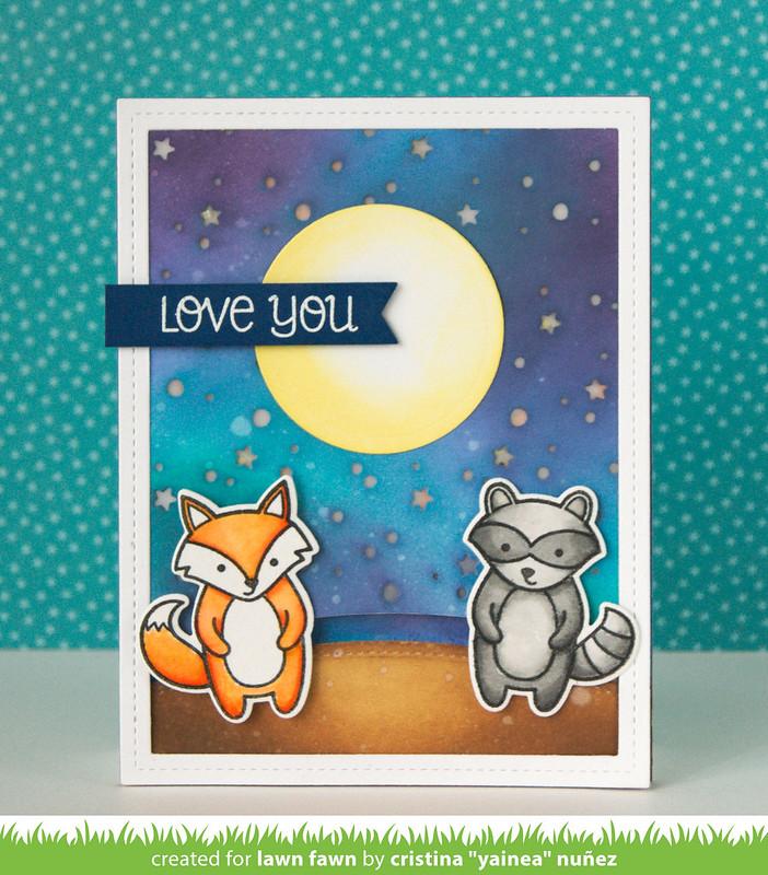 Love You interative LED card off