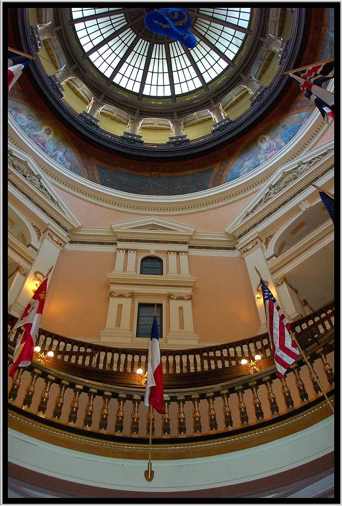 Kansas State Capitol ~ Topeka Kansas ~ Interior Dome