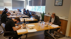Canberra Brewers Inc. posted a photo:Examinees judge beers for the 2016 Canberra Brewers BJCP Judging Exam.