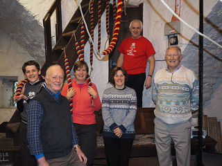 Group photo in Cartmel Ringing Room