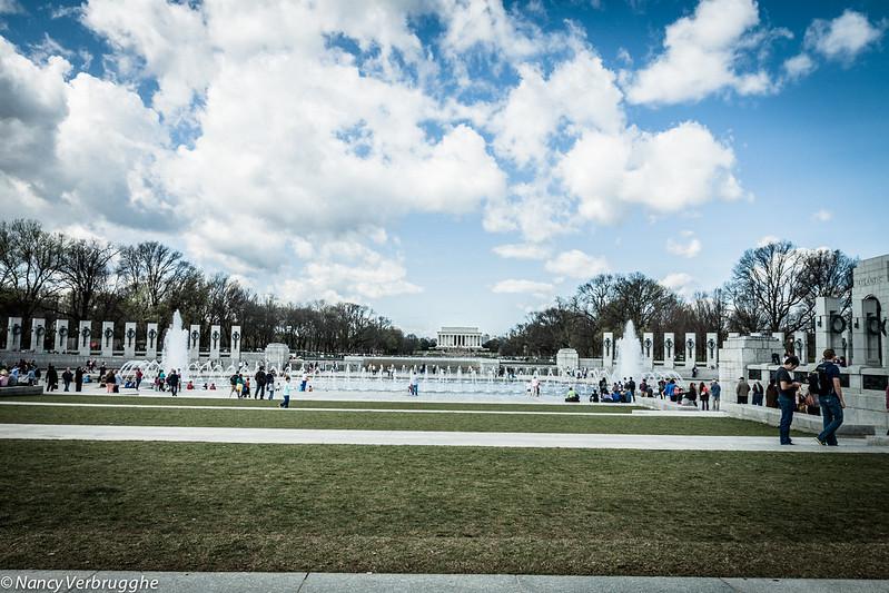 WWII memorial Washington DC