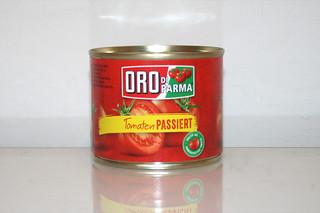 02 - Zutat passierte Tomaten / Ingredient passed tomatoes