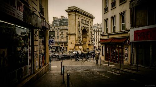 Porte Saint-Denis, Paris, 2015