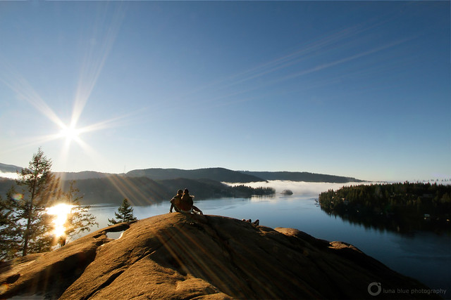 quarry rock sunrise