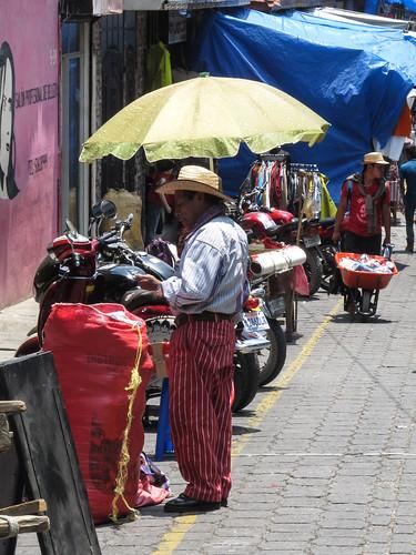 Chichicastenango: en habits traditionnels