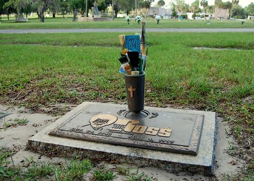 Bob Ross' Grave, Gotha, Florida