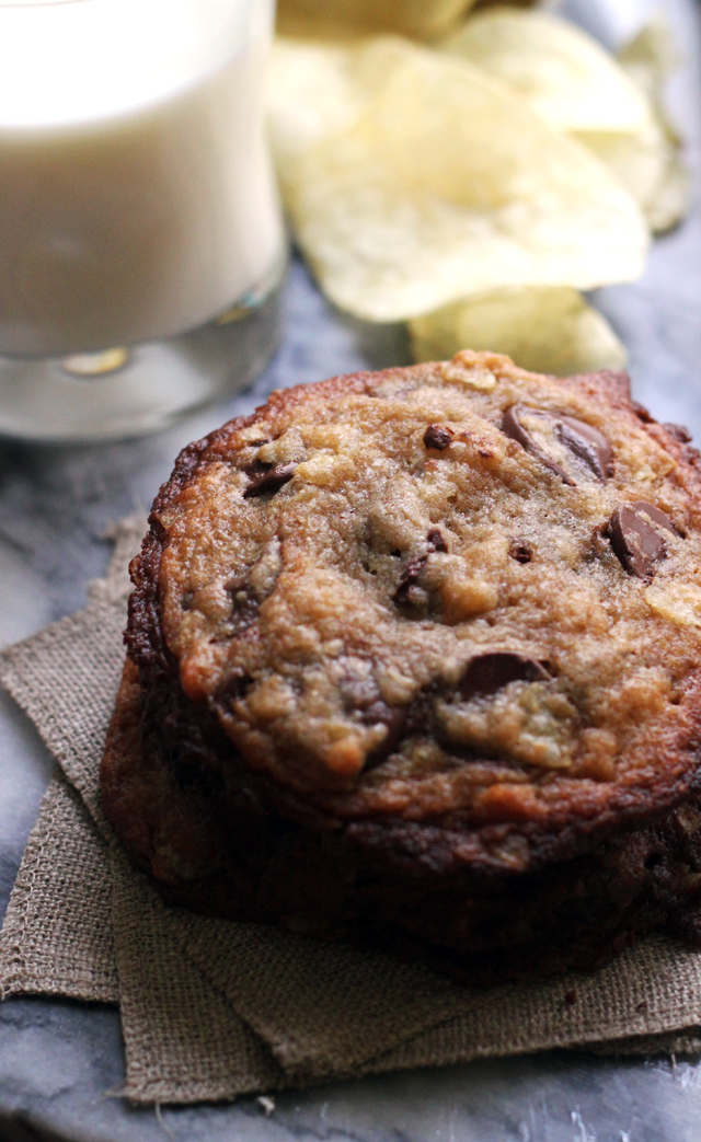 Chocolate Chip and Potato Chip Cookies