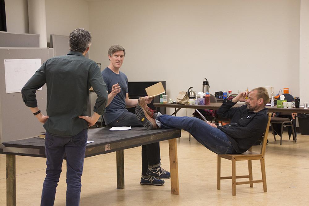 Jeff Parker, Nathan Hosner, Mark Montgomery