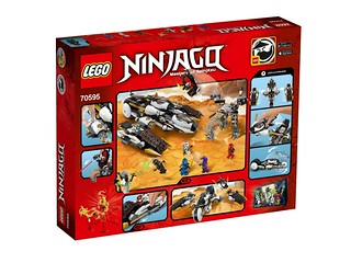 LEGO Ninjago 70595 Ultra Stealth Raider back