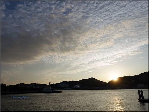 Photo:2015-09-06_T@ka.'s Life Log Book_出島ワーフからの長崎港 夕陽の絶景【長崎】【出島】_04 By:logtaka