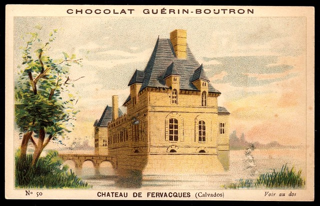 French Tradecard - Chateau de Fervacques