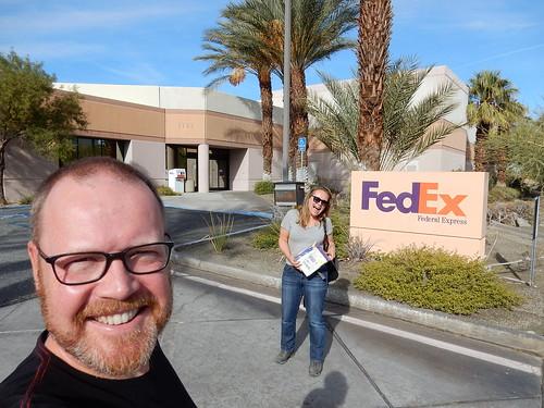 Palm Springs - pakket is binnen